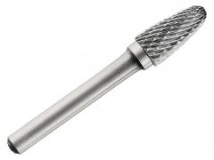 Борфреза (шарошка) по металу 6 мм сфероконічна тип F Tivoly