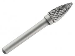 Борфреза (шарошка) по металу 6 мм сфероконічна гостра тип G Tivoly
