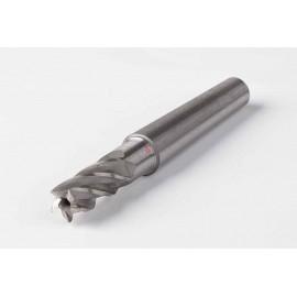 Фреза концевая коническая по металлу 25 мм z=6 Р6М5