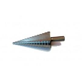 Сверло ступенчатое по металлу 4-20 мм х 9 ст