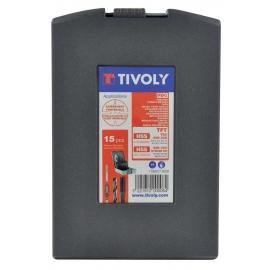 Набір різьбонарізний М3 - М12 HSS [15шт] Tivoly