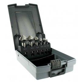 Набір зенківок по металу 6.3-20.5 мм 90° HSSE5 Tivoly