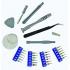 Набір біт алмазних 22 шт. з магнітним тримачем Tivoly